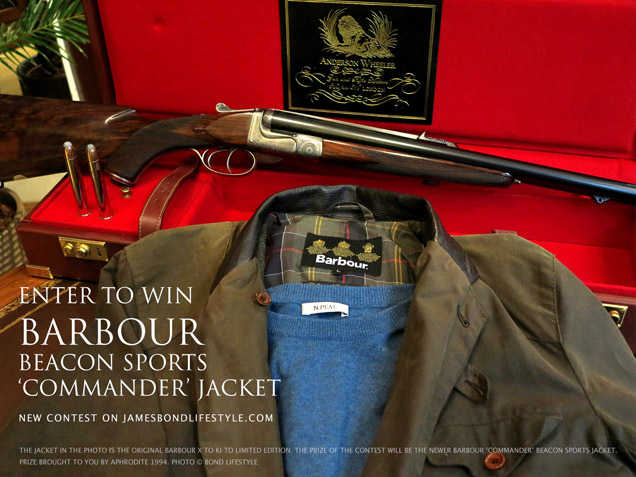 win barbour commander jacket