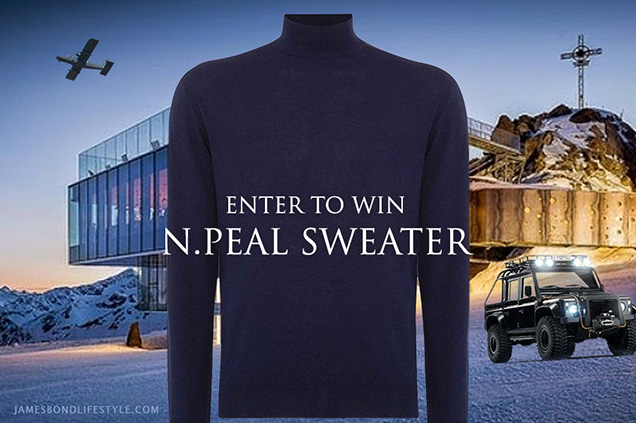 win a npeal fine gauge mock turtle sweater