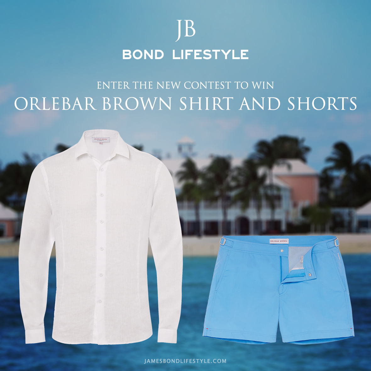 win a orlebar brown shirt and shorts