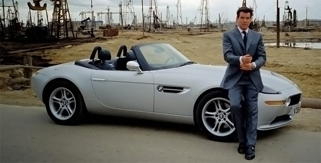 BMW Z8 James Bond TWINE