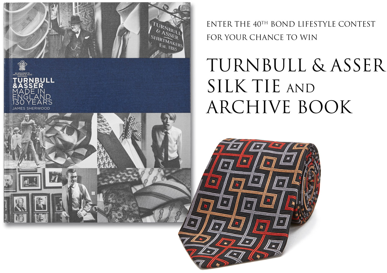 win turnbull & asser tie and archive book