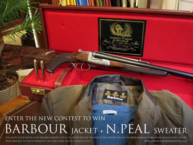 win a barbour commander jacket and npeal sweater