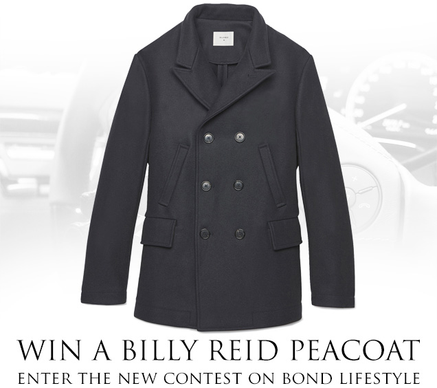 win billy reid peacoat james bond