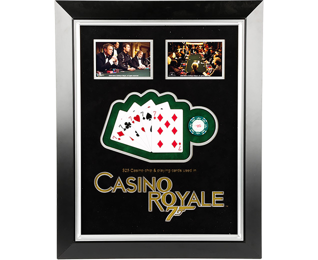Casino Royale Prop cards and chips