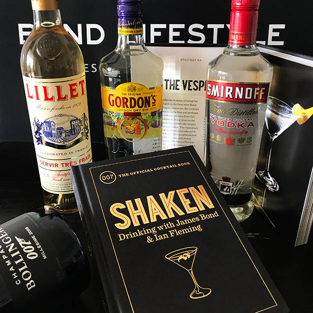 Shaken Ian Fleming Cocktail Book bond lifestyle contest win