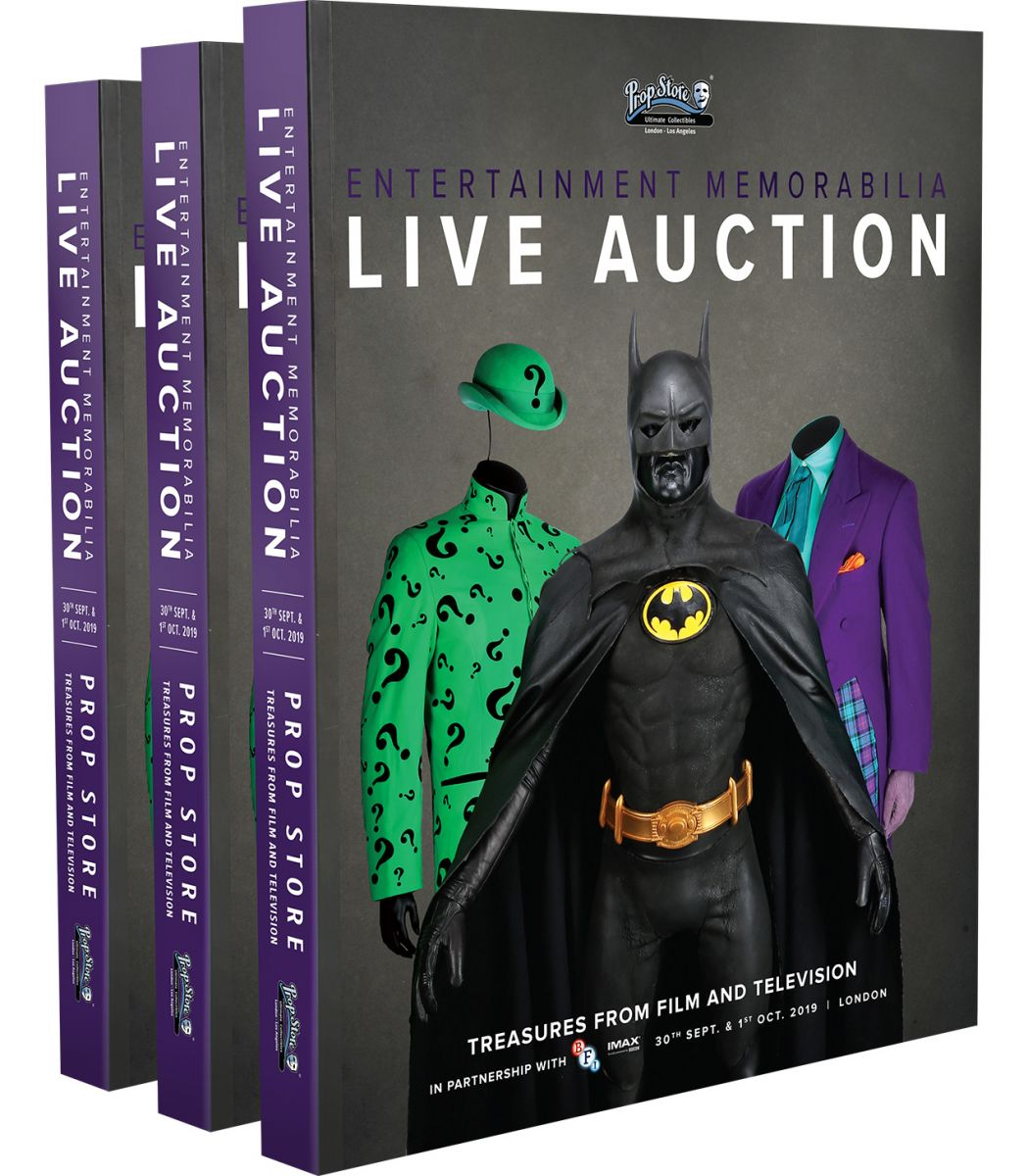 Win a Prop Store Live Auction Printed Cataloge