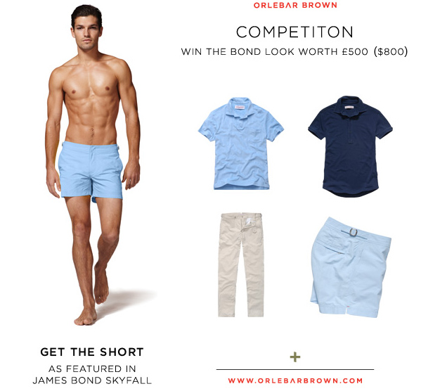 c455d12cd7 Bond Lifestyle Super Contest #18 - Win two outfits by Orlebar Brown ...