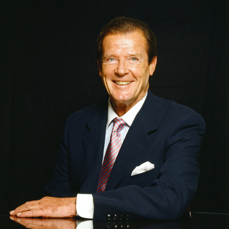 roger moore photo by terry oneill