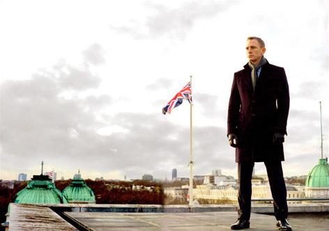SkyFall James Bond Daniel Craig London