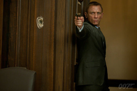 SkyFall James Bond Daniel Craig 3