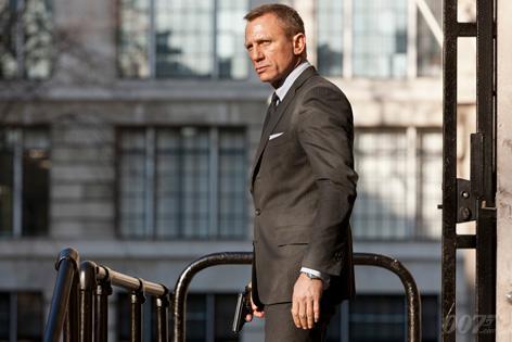 SkyFall Daniel Craig