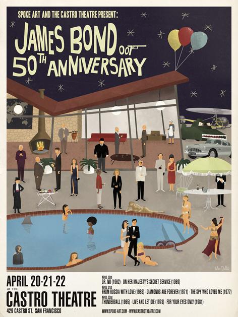 spoke art poster castro theatre 2