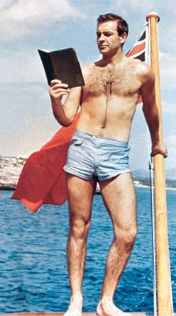 Sean Connery shorts