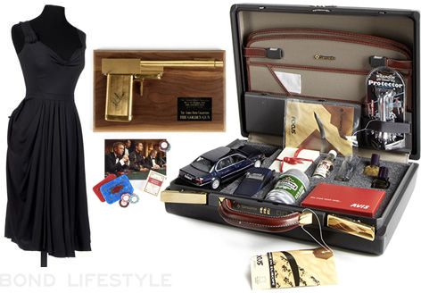 james bond auction bonhams july 2012