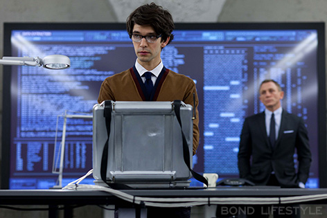 Ben Whishaw a Q in SkyFall