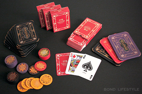 Cartamundi Skyfall cards chips set