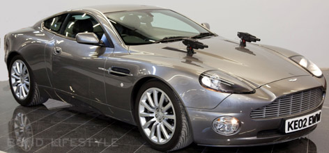 Aston Martin Vanquish Dezer Collection James Bond