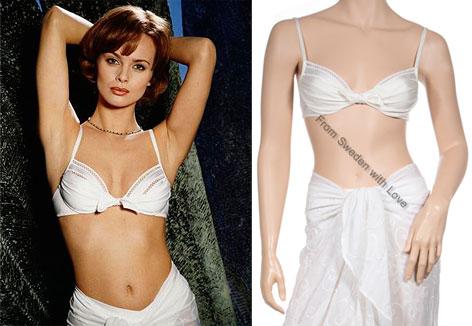 Izabella Scorupco S Screen Used Bikini From Goldeneye For