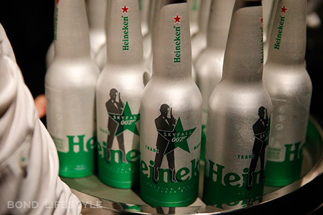 heineken skyfall bottle