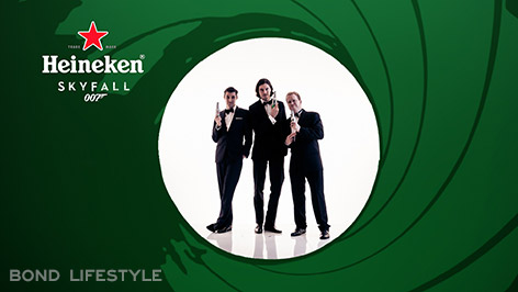 heineken gunbarrel james bond