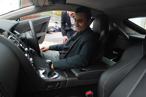 Aston Martin contest