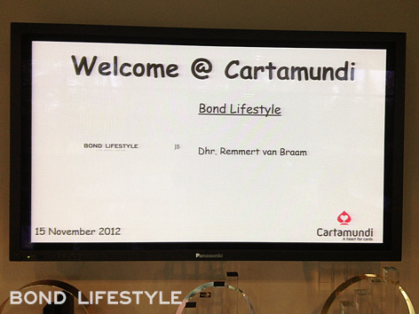 Cartamundi welcome screen remmert van braam