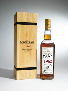 skyfall macallan 1964 auction