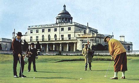 james bond stoke park golf day 2