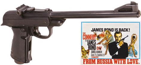 Walther LP53 on auction James Bond