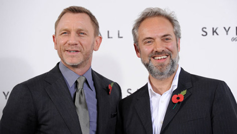 Sam Mendes James Bond Daniel Craig Bond 24