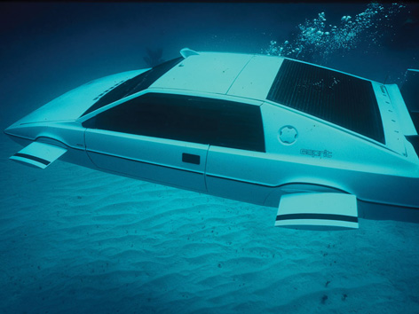 007 Lotus Esprit submarine car on auction
