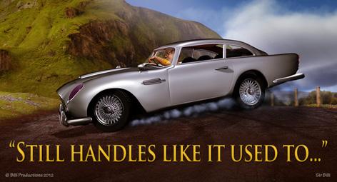 Sir Billi Aston Martin DB%