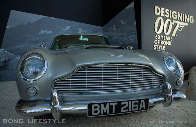 Melbourne Designing 007 exhibition Aston Martin DB5