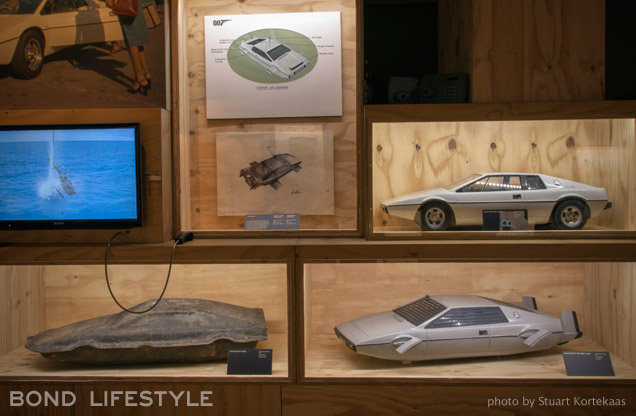 Melbourne Designing 007 exhibition Lotus Esprit