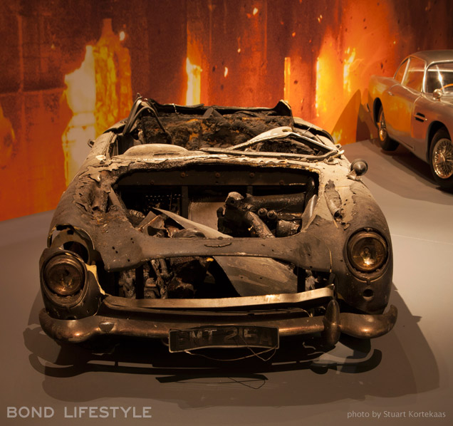 Melbourne Designing 007 exhibition Aston Martin DB5 SkyFall model