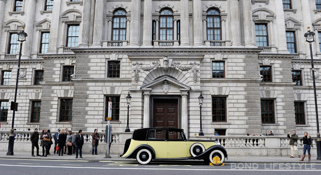 Rolls-Royce Goldfinger London 1