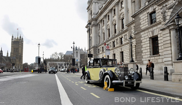 Rolls-Royce Goldfinger London 2