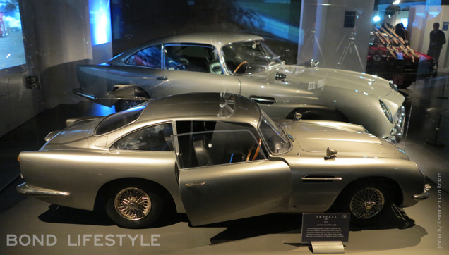 Bond In Motion DB5 model and real thing