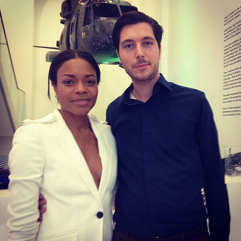Remmert van Braam Naomie Harris Bond IN Motion