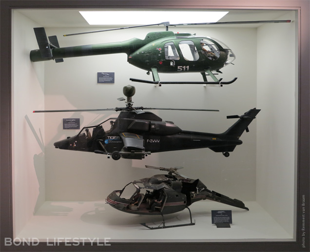 Bond in motion helicopter models
