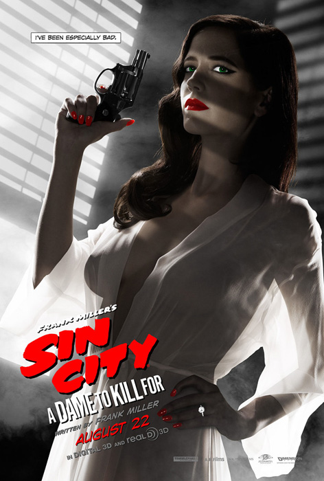 Eva Green Sin City Dame To Kill For Poster banned