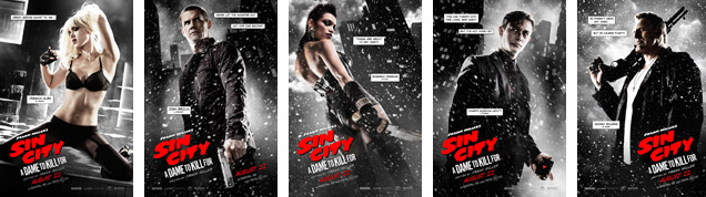 Sin City 2 Dame To Kill For posters