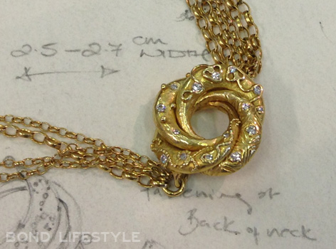 18ct Gold Sophie Harley Algerian Love Knot
