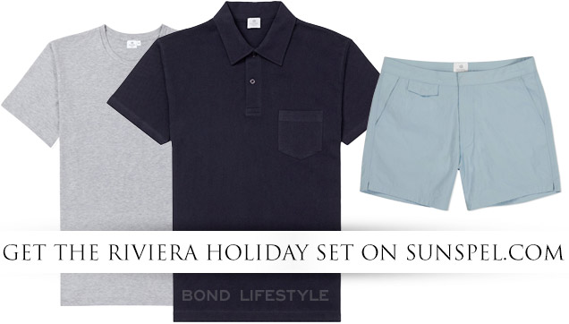 Sunspel 007 Riviera Holiday Set