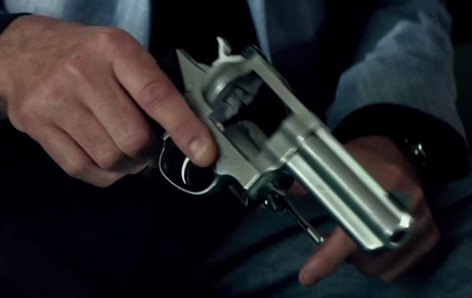 Ruger GP100 gun November Man Pierce Brosnan