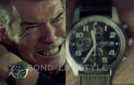 Pierce Brosnan November Man Lorus wristwatch watch