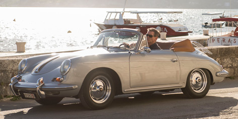 Pierce Brosnan November Man Porsche 356B cabriolet
