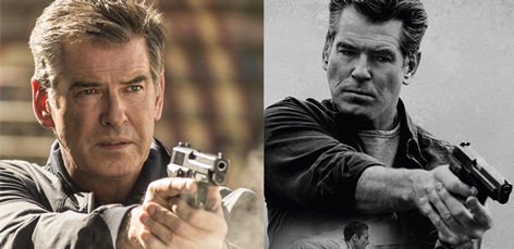 Pierce Brosnan The November Man Sig Sauer gun