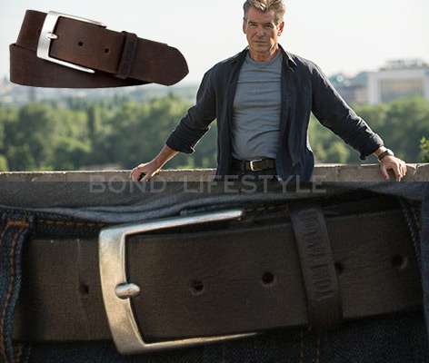 Pierce Brosnan Tom Tailor Belt in The November Man