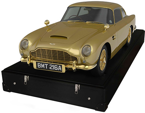 aston martin db5 scale model gold auction christies